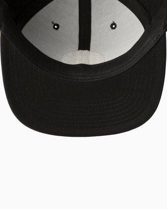 2 Diagram Snapback Hat Black MAHWTRDG RVCA
