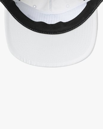 2 GRAPHIC PACK SNAPBACK HAT White MAHWTRGP RVCA