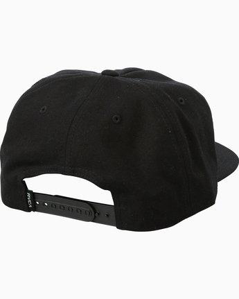1 Prowler Snapback Hat Black MAHWTRPR RVCA