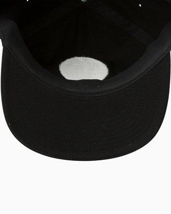 2 Prowler Snapback Hat Black MAHWTRPR RVCA
