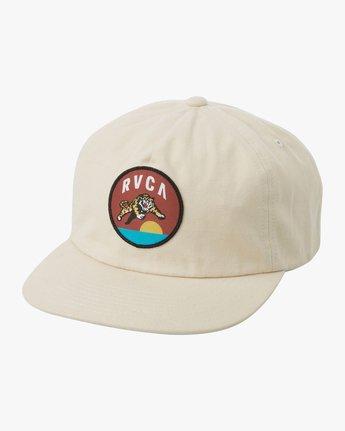 0 Prowler Snapback Hat Green MAHWTRPR RVCA