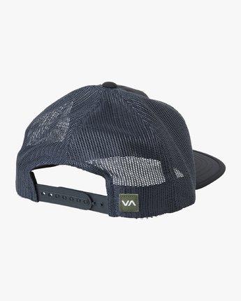 1 Travel Trucker Hat Blue MAHWTRTT RVCA