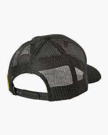 1 Freedom Trucker Hat Black MAHWURFT RVCA