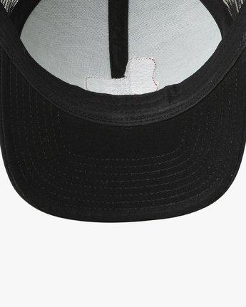 2 Freedom Trucker Hat Black MAHWURFT RVCA