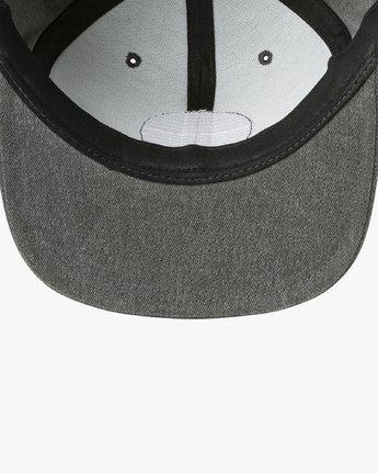 2 Navigate Snapback Hat Black MAHWURNA RVCA