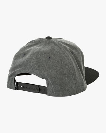 1 Olympic Snapback Hat Black MAHWUROL RVCA