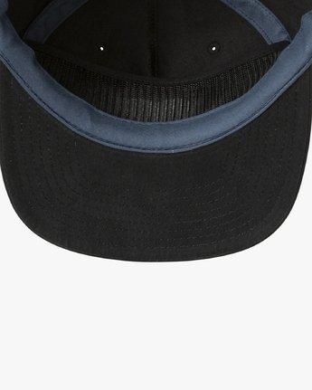 2 T Whitehead Snapback Hat Black MAHWURTW RVCA