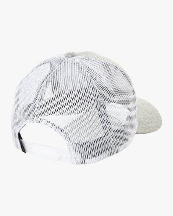 1 Volume Trucker Hat Grey MAHWURVT RVCA