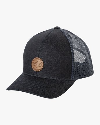 0 Volume Trucker Hat Purple MAHWURVT RVCA