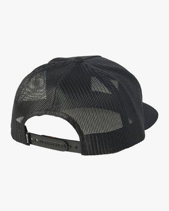 1 Balance Trucker Hat Black MAHWVRBT RVCA