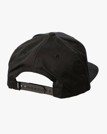 2 Carpe Diem Tokyo Snapback Hat Black MAHWVRCD RVCA