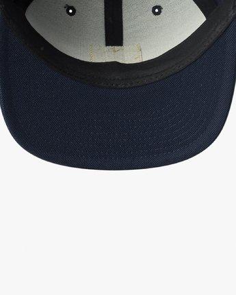 2 Den Snapback Hat Blue MAHWVRDS RVCA