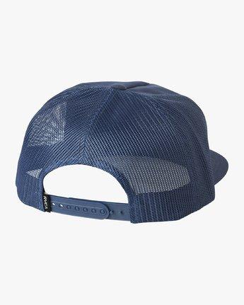 1 Duet Trucker Hat Blue MAHWVRDT RVCA