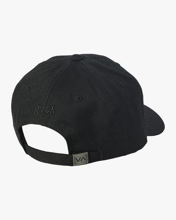 1 Mel G Strapback Hat  MAHWVRMG RVCA