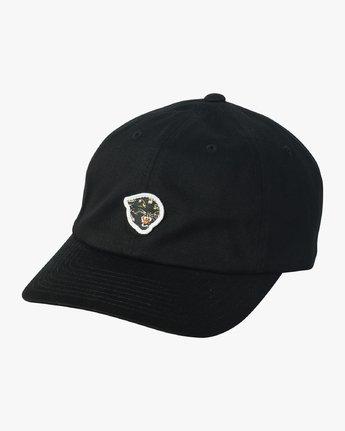0 Mel G Strapback Hat Black MAHWVRMG RVCA