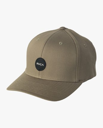0 Mini Motors Flex Fit Hat Green MAHWVRMM RVCA