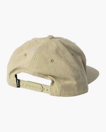 1 Pints Snapback Hat Green MAHWVRPS RVCA