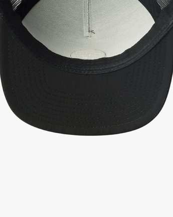 2 RVCA Sphere Trucker Hat Black MAHWVRRS RVCA