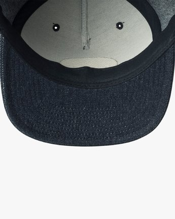 2 Serpent Snapback Hat Purple MAHWVRSS RVCA