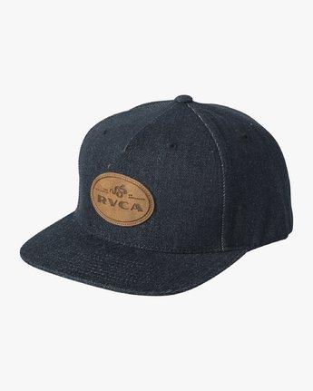 0 Serpent Snapback Hat Blue MAHWVRSS RVCA
