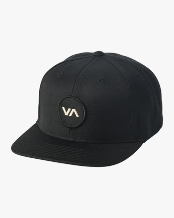 0 VA Patch Snapback Hat Black MAHWVRVP RVCA
