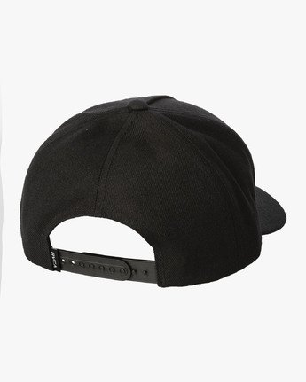 1 VA Patch Snapback Hat Black MAHWVRVP RVCA