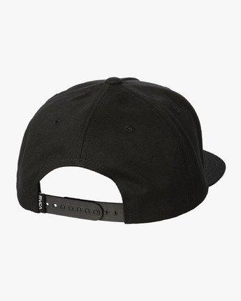 1 Ben Venom Snapback Hat Black MAHWWRBV RVCA