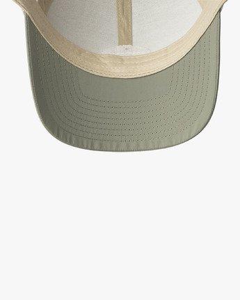 2 Cortex Trucker Hat Green MAHWWRCT RVCA