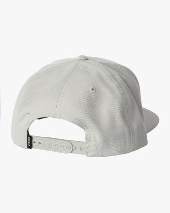 1 Decca Snapback Hat Grey MAHWWRDS RVCA
