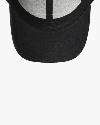 2 TICKET TRUCKER III HAT Black MAHWWRTT RVCA