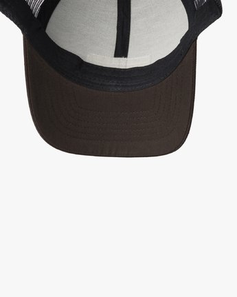 2 TICKET TRUCKER III HAT Brown MAHWWRTT RVCA