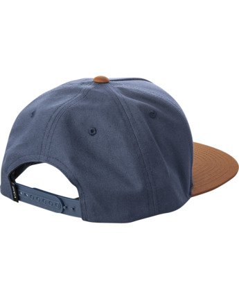 1 VA ALL THE WAY SNAPBACK HAT Blue MAHWWRVS RVCA