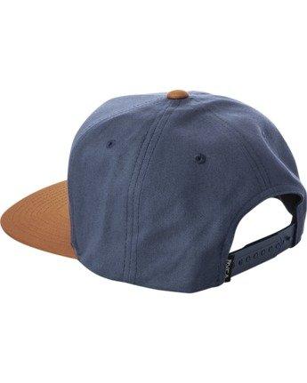 2 VA ALL THE WAY SNAPBACK HAT Blue MAHWWRVS RVCA