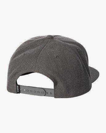1 VA All The Way Snapback Hat Brown MAHWWRVS RVCA