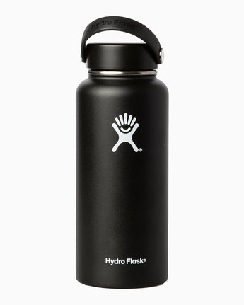 1 BJ Penn Hydroflask 32 Oz Wide Mouth Water Bottle Grey MAMCXRBJ RVCA