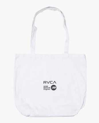 1 Beautiful Losers Tote Bag White MATBQRTO RVCA