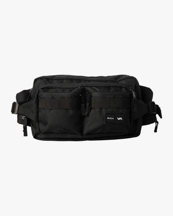 1 DELUXE HIP BAG Black MATV3RWD RVCA