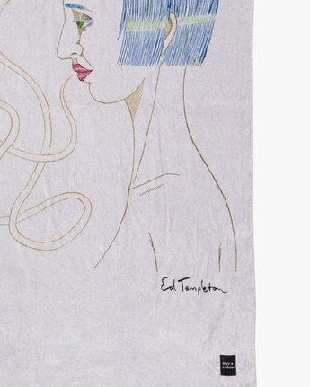 1 ED TEMPLETON TOWEL Purple MATW2RET RVCA