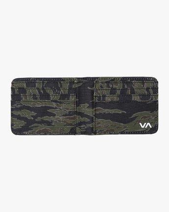 1 Leeward Bi-Fold Wallet Grey MAWAQRLW RVCA