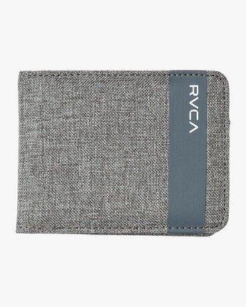 2 Leeward Bi-Fold Wallet Grey MAWAQRLW RVCA