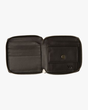 1 Zip Around Wallet Black MAWAQRZA RVCA