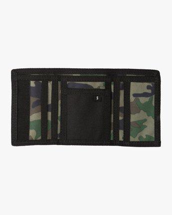 2 RVCA Print Trifold Wallet  MAWASRPT RVCA