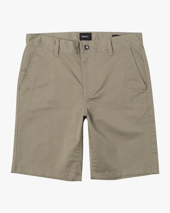 "0 WEEKEND 20"" STRETCH SHORTS Beige MC202WKS RVCA"