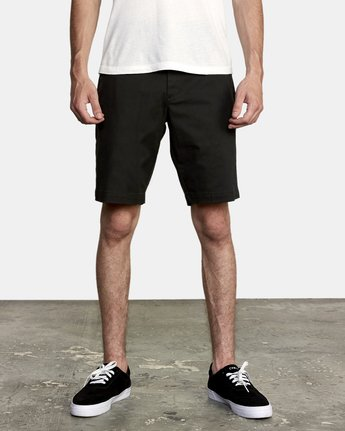 1 Week-End Stretch Shorts Black MC202WKS RVCA