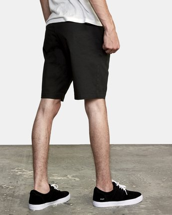 5 Week-End Stretch Shorts Black MC202WKS RVCA