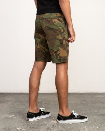 5 Week-End Stretch Shorts Camo MC202WKS RVCA