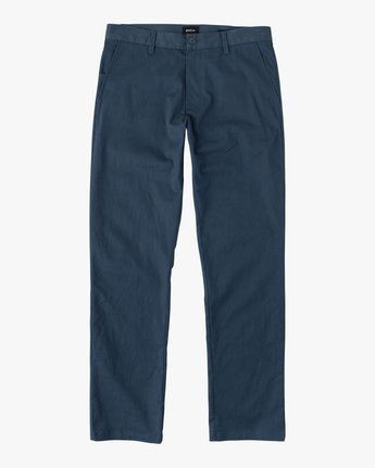 4 Week-end Stretch Pants Blue MC303WST RVCA