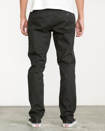 3 Week-end Stretch Pants Black MC303WST RVCA