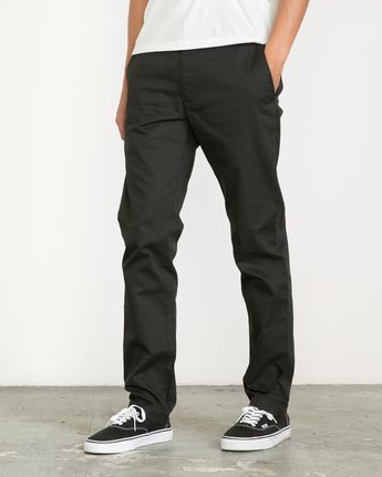 1 Week-end Stretch Pants Black MC303WST RVCA
