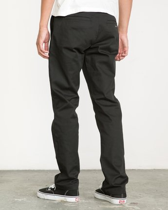 2 Week-end Stretch Pants Black MC303WST RVCA